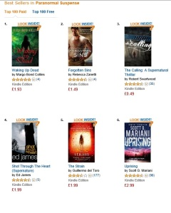 #1 in UK Paranormal Suspense