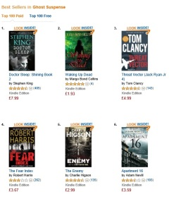 #2 in UK Ghost Suspense