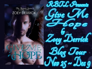 Give Me Hope Blog Tour Banner