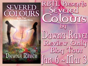 Severed Colours Review Only Blog Tour Banner