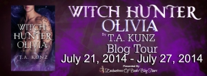 Witch Hunter Olivia Blog Tour Banner