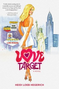 LOVE TARGET, front cover copy