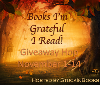 Books I'm Grateful I Read Blog Hop Giveaway ~ Great Indie Reads! (1/5)