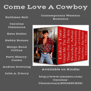 DOWNLOAD A SAMPLE BOOK--WITH RECIPES!--OF COME LOVE A COWBOY NOW!