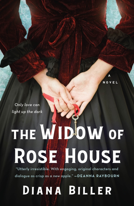 Book Jacket.Widow of Rose House