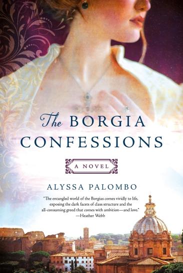 Book Jacket.Borgia Confessions